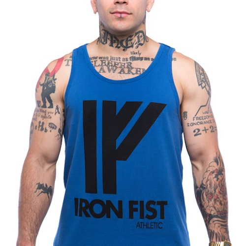 Iron Fist Athletics Mens Logo Tank M
