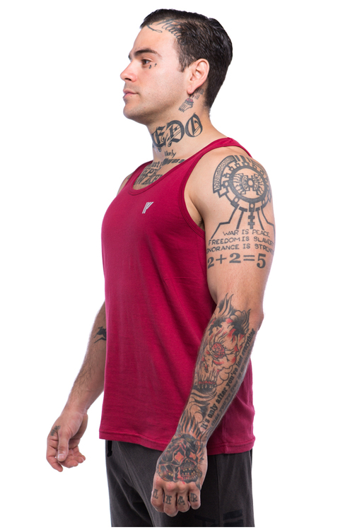 Iron Fist Athletics Mens Never Give In Reactive Tank M