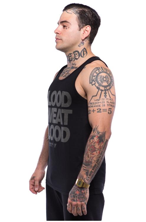 Iron Fist Athletics Mens Blood Sweat Blood Tank M