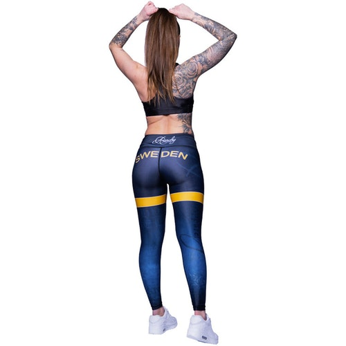 Sweden Nation Leggings