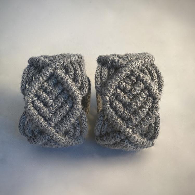 2st Servettringar grå