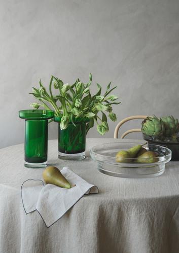 Limelight Rosvas 23 cm, Äppelgrön, Kosta Boda