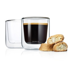 NERO, Kaffeglas 2-pack
