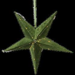 Pappersstjärna Velvet, Grön