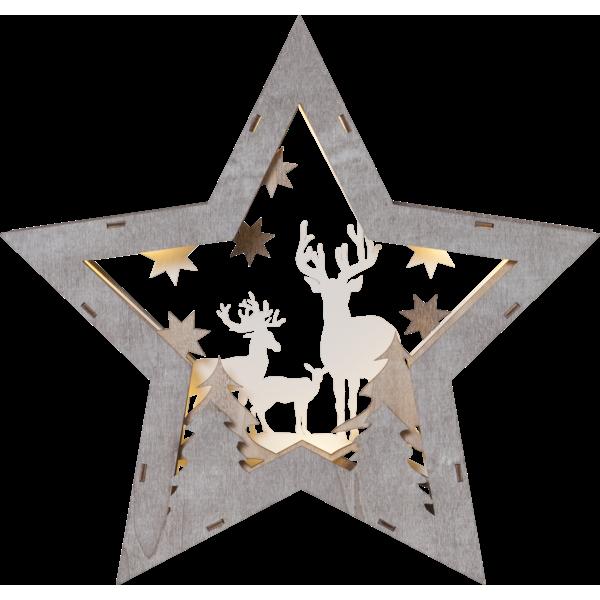 Bordsdekoration Fauna Stor Stjärna