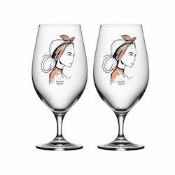 All About You Ölglas 2-Pack, Near You, Kosta Boda