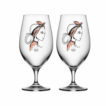 All About You Ölglas 2-Pack, Near You, Kosta Boda