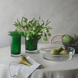 Limelight Tulpanvas 19,5 cm, Äppelgrön, Kosta Boda
