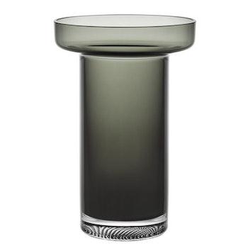 Limelight Rökgrå Rosvas 23 cm, Kosta Boda