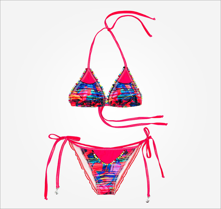 Colored / Multicolored Bikini Mar de Habano