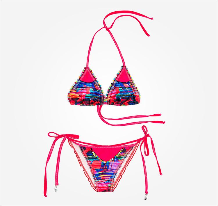 Färgglad/Mångfärgad Bikini Mar de Habano