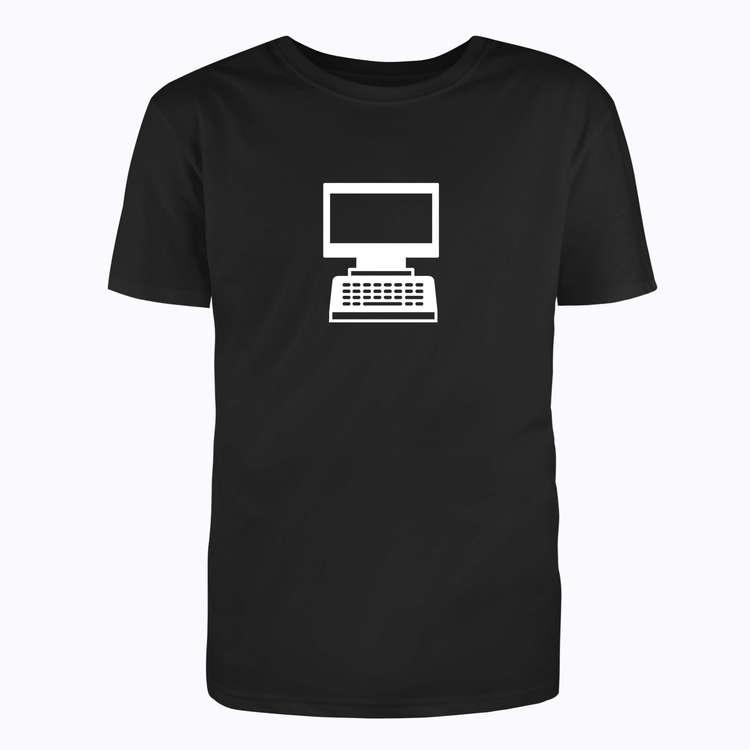 T-Shirt - Gammal dator