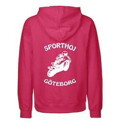 Rosa hoodie - Sporthoj Göteborg