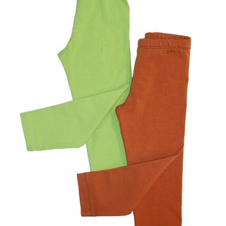 Enfärgade leggings