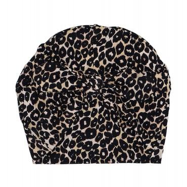 Turbanmössa knut - Leopard Brun