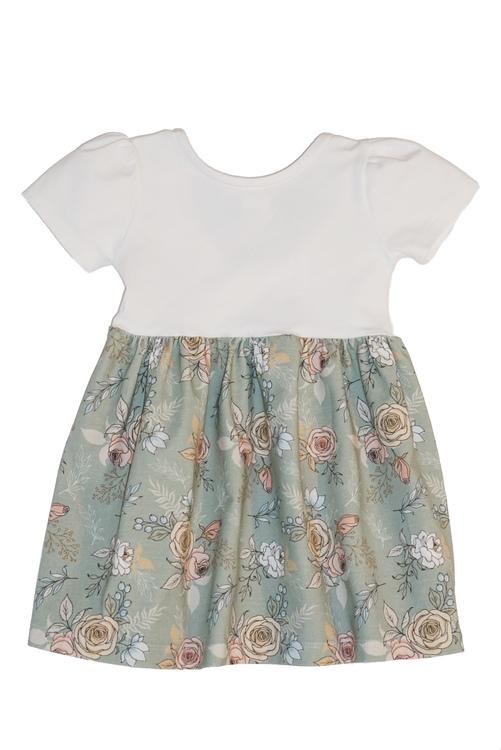 Rosettklänning - valfritt tyg