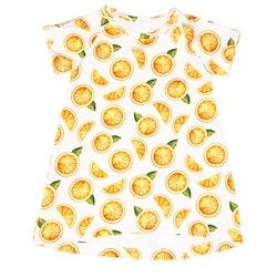 Rak klänning/Tunika - Apelsiner