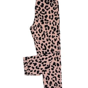 Leggings - Leopard Gammelrosa
