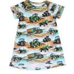 Rak klänning-Tunika Traktorer
