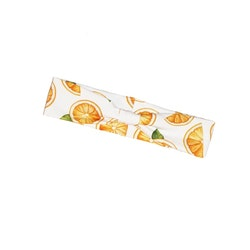 Hårband med band - Apelsiner