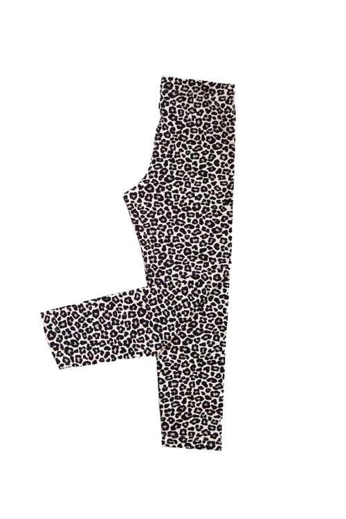 Leggings - Leopard grå