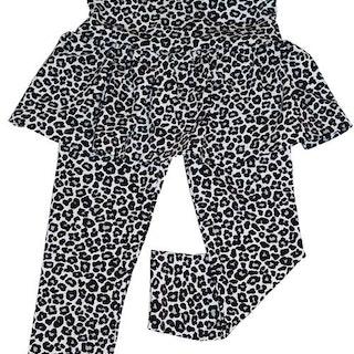 Leggings med kjol - Valfritt tyg