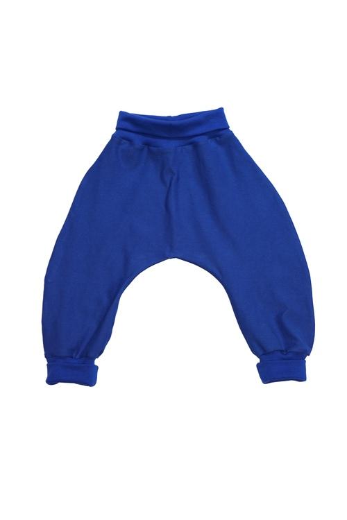 Blå Baggybyxor (74/80)