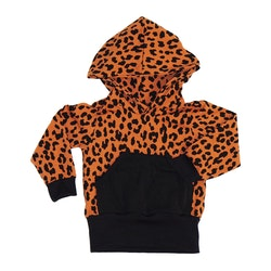 Hoodie - Leopard Terrakotta
