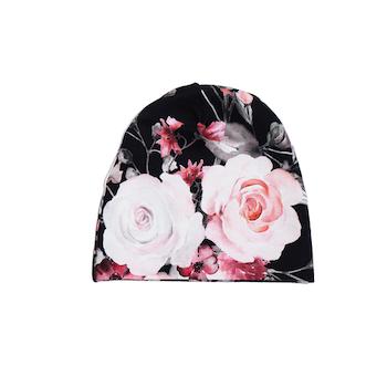 Mössa - Rosa rosor