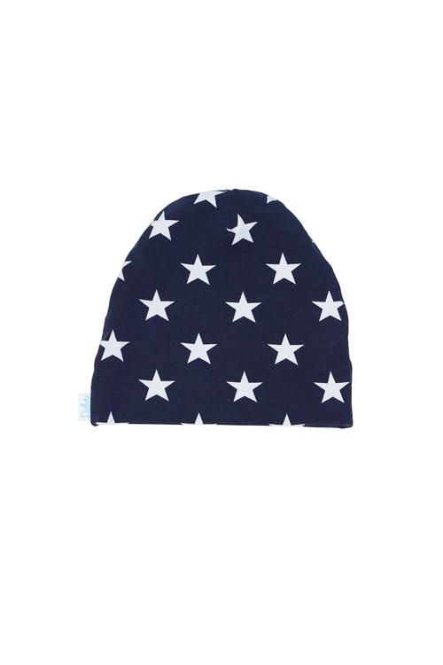 Mössa - Stjärnor Marinblå