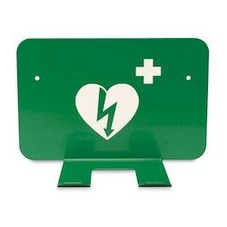 Väggfäste hjärtstartare (grön)