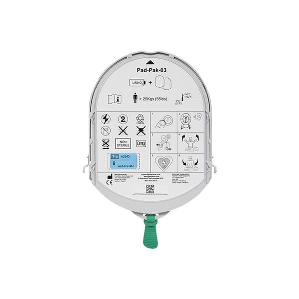 Samaritan batteri & elektroder, vuxen