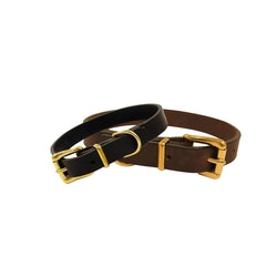 Läderhalsband Ahley, Classic Collection
