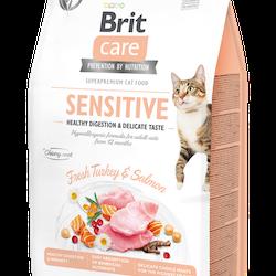 Brit Care Cat Sensitive Healthy Digestion & Delicate Taste