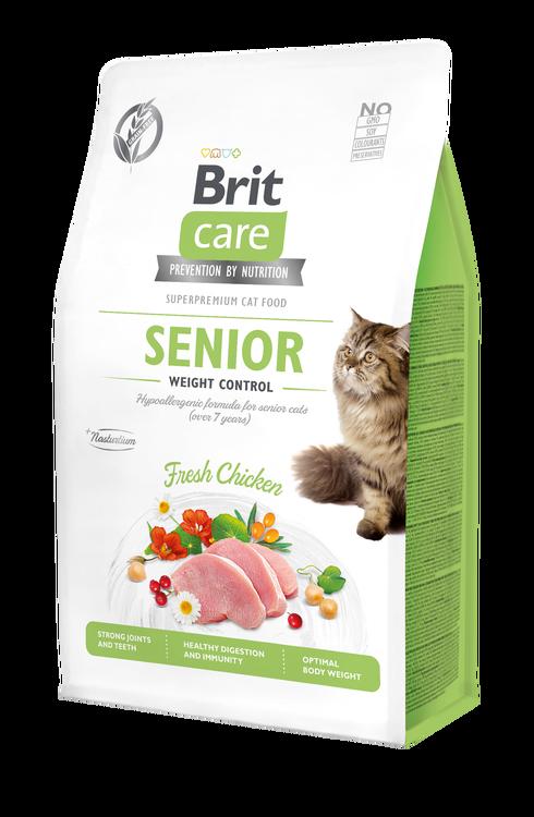 Brit Care Cat Senior Weight Control