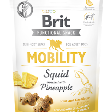 Brit Functional Snack Mobility Squid  150 g