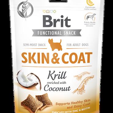 Brit Functional Snack Skin & Coat Krill 150 g