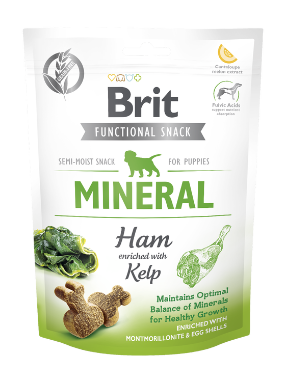 Brit Functional Snack Mineral Ham for Puppies 150 g