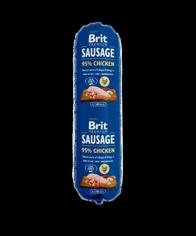 Brit Köttkorv Chicken 800 g