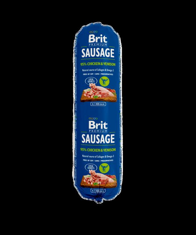 Brit Köttkorv Chicken & Venison 800 g