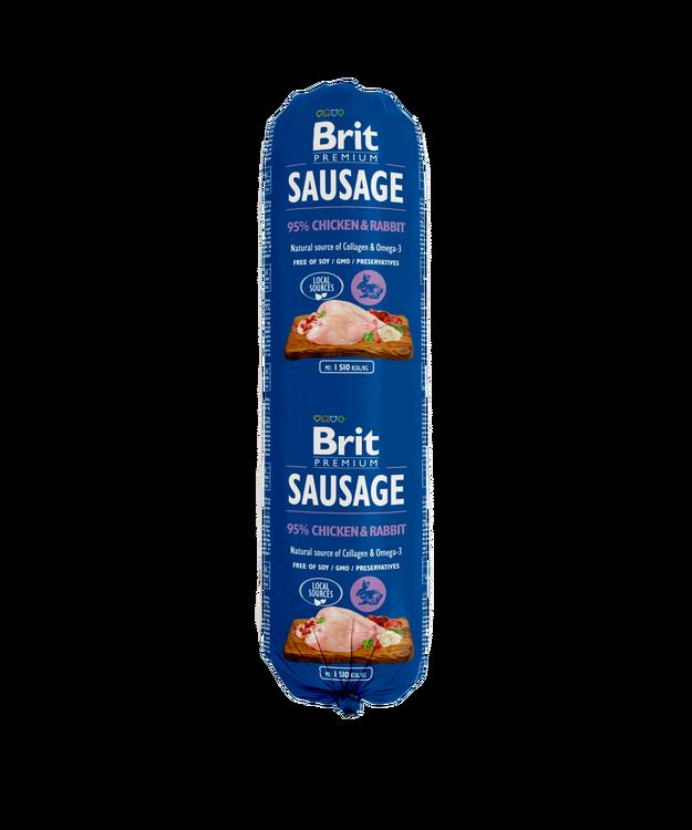 Brit Köttkorv Chicken & Rabbit 800 g