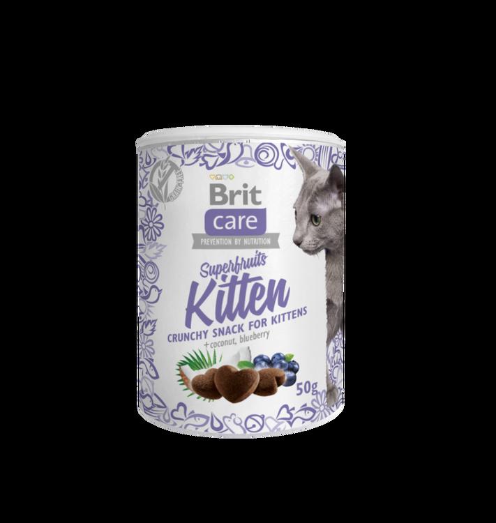 Brit Care Cat Snack Superfruits Kitten 100g