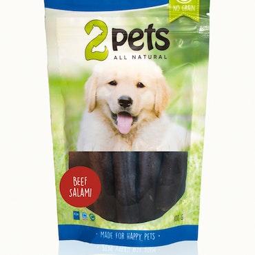 2Pets Dog salami biff 100 gr