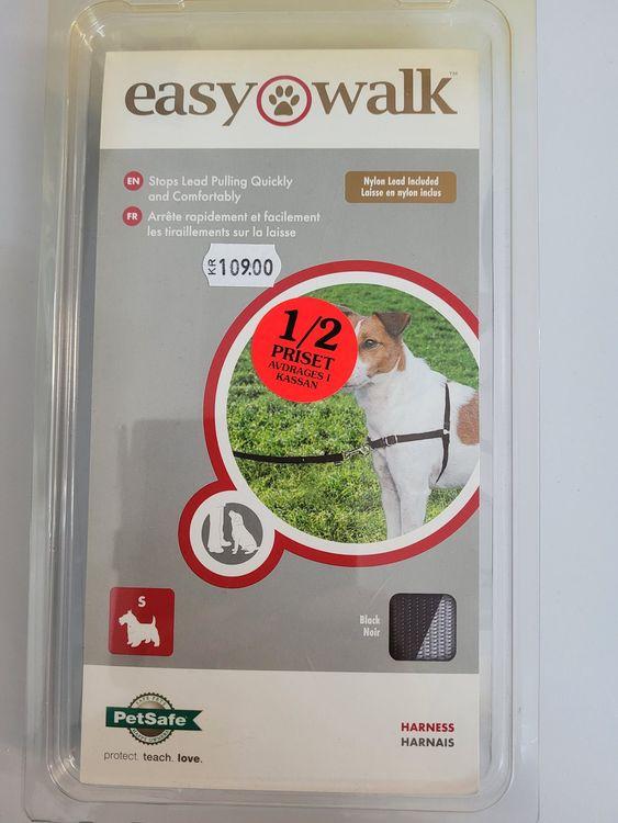 Easy walk-sele inkl koppel S