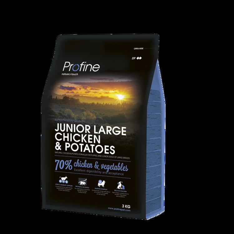 Profine junior large chicken & potatoes