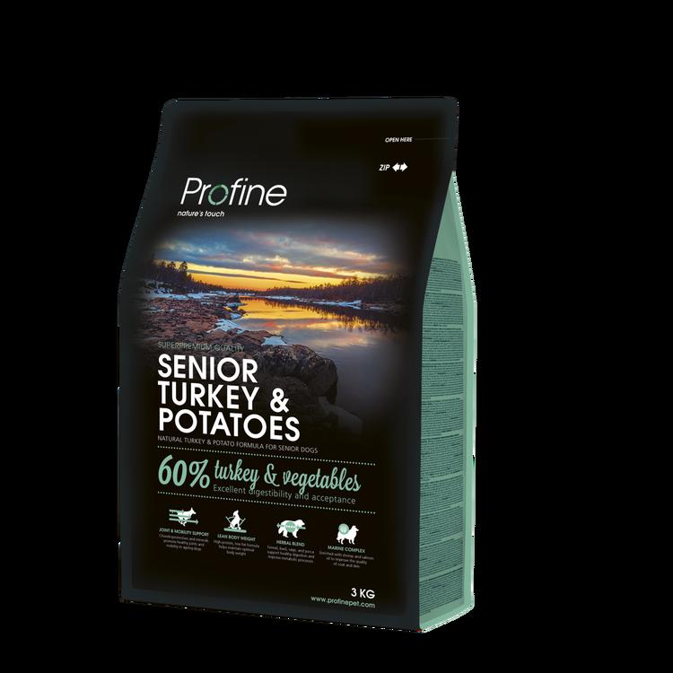 Profine senior turkey & potatoes