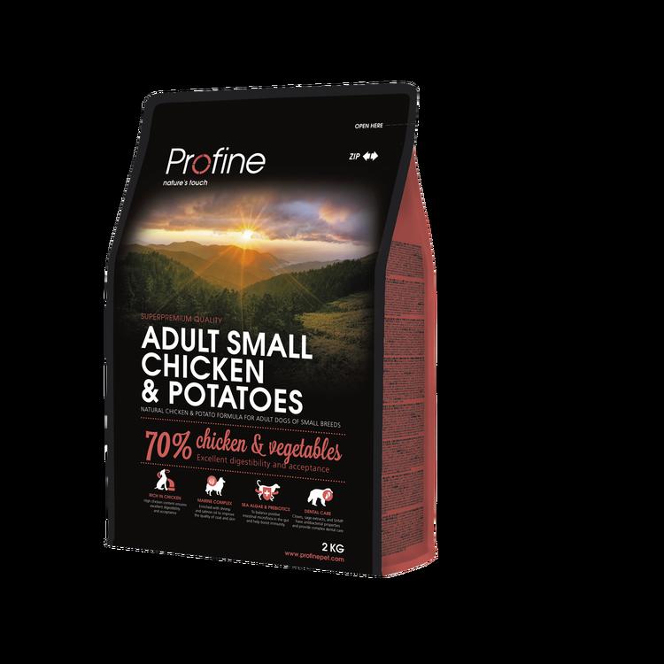 Profine adult small chicken & potatoes