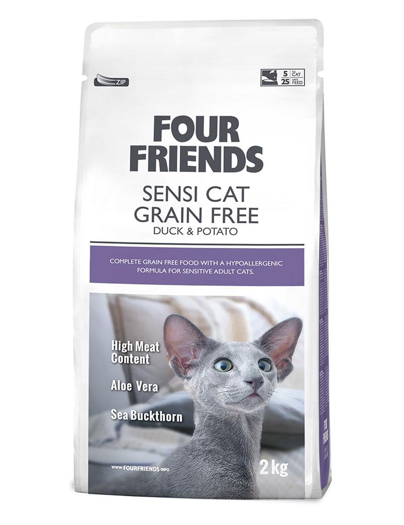 FourFriends Cat Sensi Grain Free Duck & Potato