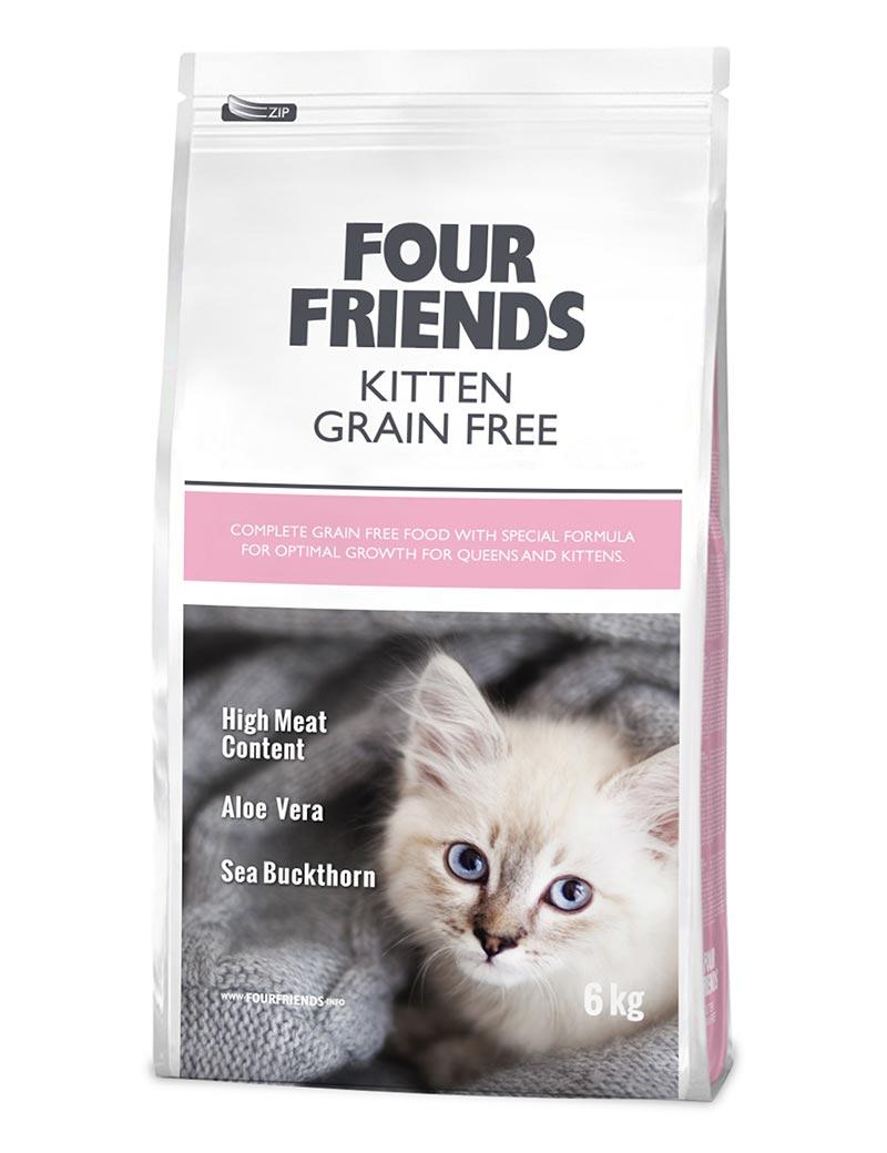 FourFriends Kitten Grain Free