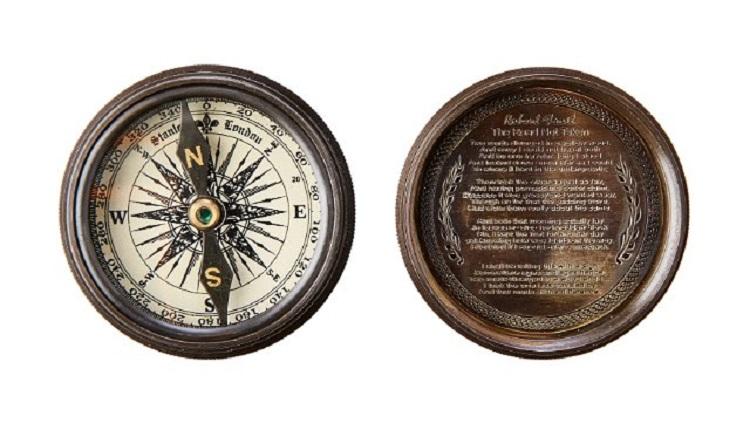 kompass för dekoration